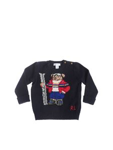 POLO Ralph Lauren - Ski Bear pullover in blue