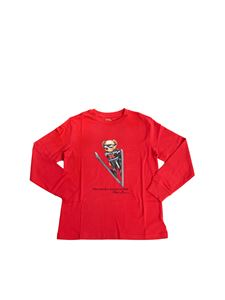 POLO Ralph Lauren - Polo Bear Holiday long sleeve t-shirt in red