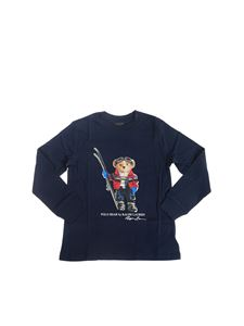 POLO Ralph Lauren - Polo Bear Holiday long sleeve t-shirt in navy