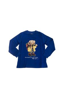 POLO Ralph Lauren - Polo Bear Holiday long sleeve t-shirt in blue