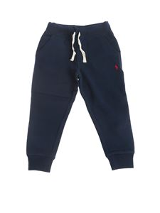 POLO Ralph Lauren - Cotton blend pants in blue