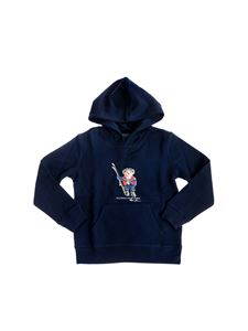 POLO Ralph Lauren - Polo Bear Holiday hoodie in navy