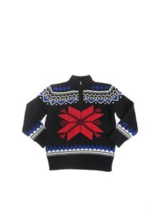 POLO Ralph Lauren - Sweater in navy color with zip on the neck
