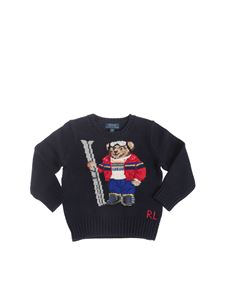 POLO Ralph Lauren - Ski Bear pullover in navy blue