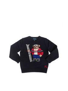 POLO Ralph Lauren - Polo Bear Holiday crewneck sweater in navy