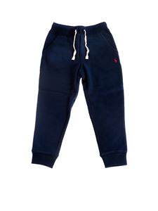 POLO Ralph Lauren - Trackpants in blue with cuffs
