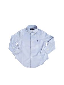 POLO Ralph Lauren - Round bottom shirt in light blue