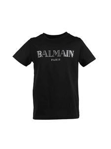 Balmain - Logo t-shirt in black