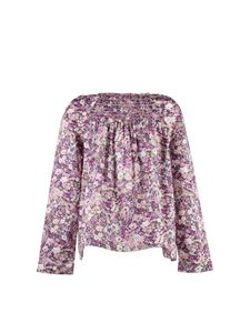 Bonpoint - Floral print blouse in shades of pink