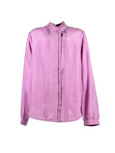 Chloé - Fuchsia shirt with ruffles
