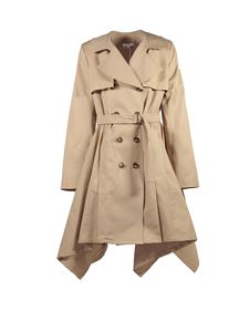 Chloé - Beige double-breasted trench coat