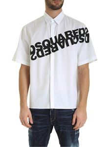 Dsquared2 - Dsquared print shirt in white