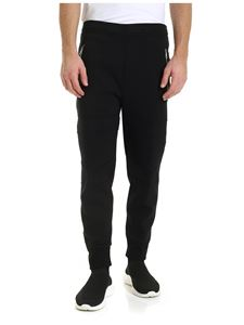 Neil Barrett - Pants in black with padded stitching