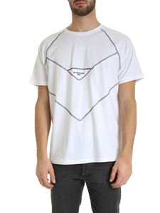 Givenchy - Contrasting stitches T-shirt in white