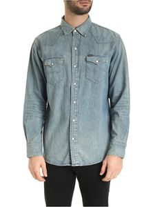 POLO Ralph Lauren - Icon Western shirt in faded blue