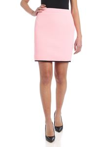 Moschino - Black edge in skirt in pink