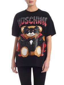 Moschino - Teddy Bear Bat T-shirt in black