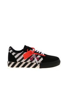 Off-White - Diag Low Vulcanized sneakers in black