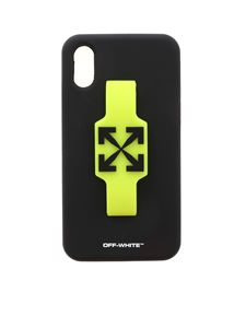 Off-White - W Fing cover in black and neon yellow