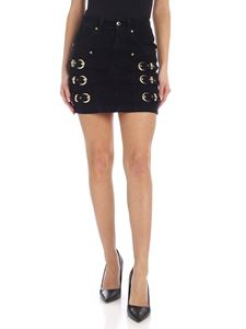 Versace Jeans Couture - Mini-skirt in black with golden details