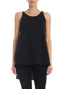 Y-3 Yohji Yamamoto - Black top with rear pleats
