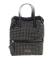 Versace Jeans Couture - Tote bag in black with applied studs
