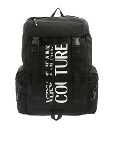 Versace Jeans Couture - Macro Logo backpack in black