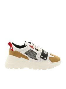 Versace Jeans Couture - Sneakers Linea Fondo Speed Dis.4 bianche