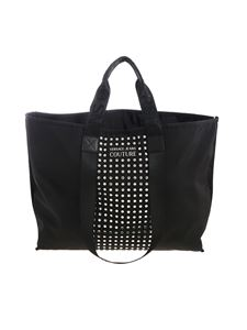 Versace Jeans Couture - Tote bag in black with studs