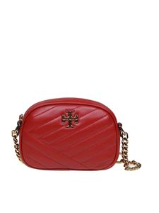 Tory Burch - Kira Chevron Small shoulder bag in red