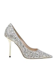 Jimmy Choo - Love 100 pumps in Moon Sand color