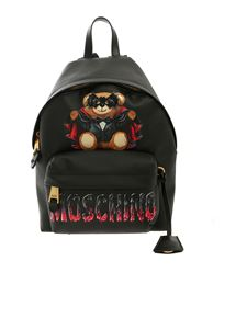 Moschino - Bat Teddy Bear backpack in black