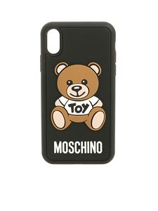 Moschino - Iphone Xr with Teddy Bear cover in black