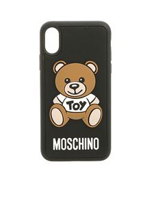 Moschino - Teddy Bear Iphone X and Xs cover in black