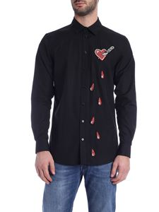 Moschino - Bleeding Heart shirt in black