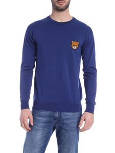 Moschino - Teddy Bear insert pullover in blue