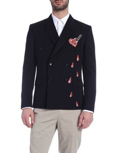 Moschino - Bleeding Heart jacket in black