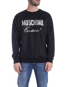 Moschino - Moschino Couture print sweatshirt in black