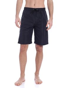 Moschino - Logo swim shorts in black