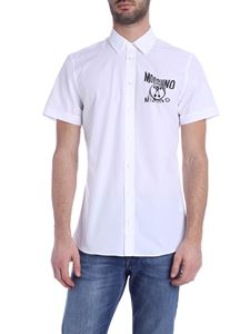 Moschino - Logo shirt in white