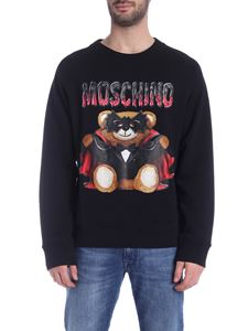 Moschino - Bat Teddy Bear sweatshirt in black