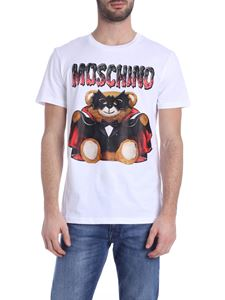 Moschino - Bat Teddy Bear t-shirt in white
