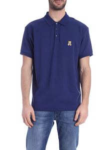 Moschino - Teddy Bear patch polo shirt in blue