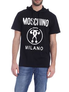 Moschino - Hooded T-shirt in black