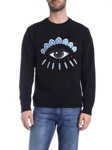 Kenzo - Eye embroidery sweatshirt in black