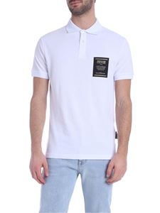 Versace Jeans Couture - Polo shirt in white with logo on the chest