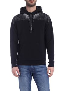 Marcelo Burlon - Wings hoodie in black
