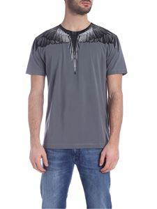 Marcelo Burlon - Black Wings T-shirt in anthracite color