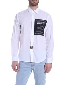 Versace Jeans Couture - Chest logo shirt in white