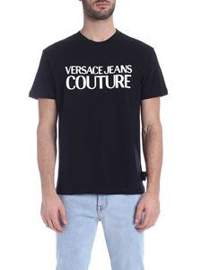 Versace Jeans Couture - Macro Logo T-shirt in black